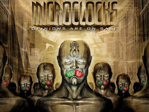 """Opinions are on sale"" ist das Debütalbum der Bochumer Band Microclocks."